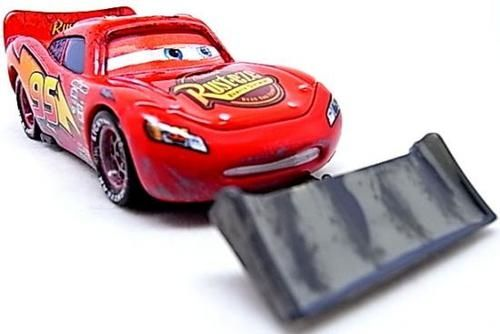 Cars Количка - McQueen with shovel