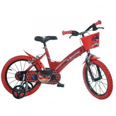 4db1bc09b89 Детско колело Dino Bikes MIRACULOUS 14 инча