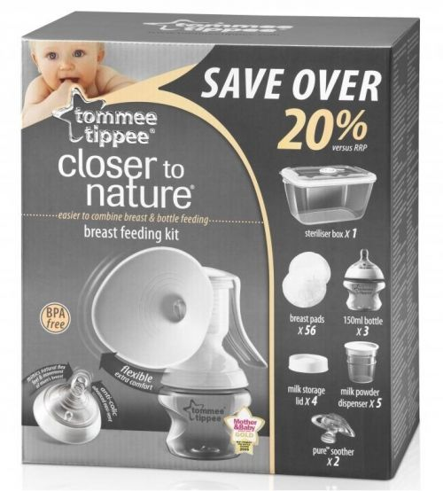TOMMEE TIPPEE Комплект за кърмене Closer to Nature