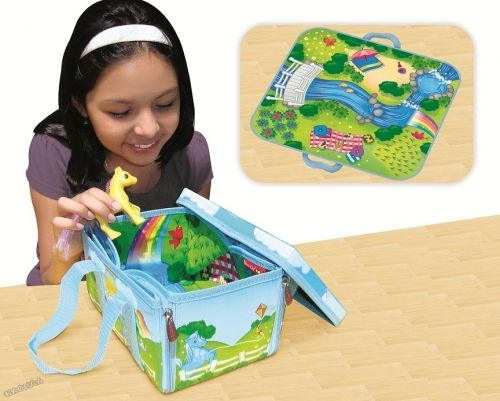 ZipBin® - Детска игра Еднорози Unicorn Mini Play Set