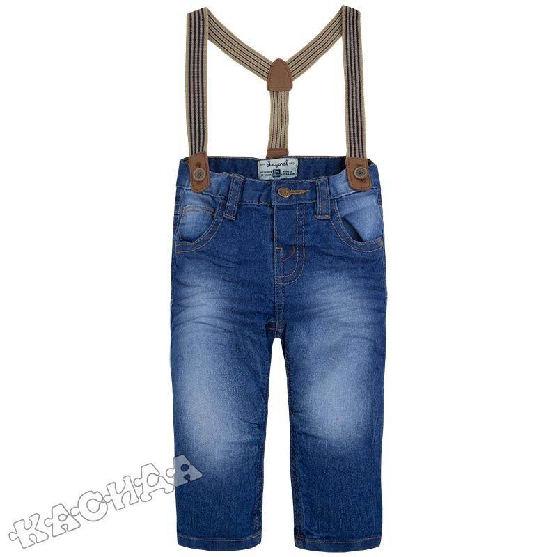 39b7637ebac Mayoral - Бебешки дънки с тиранти *Largo*
