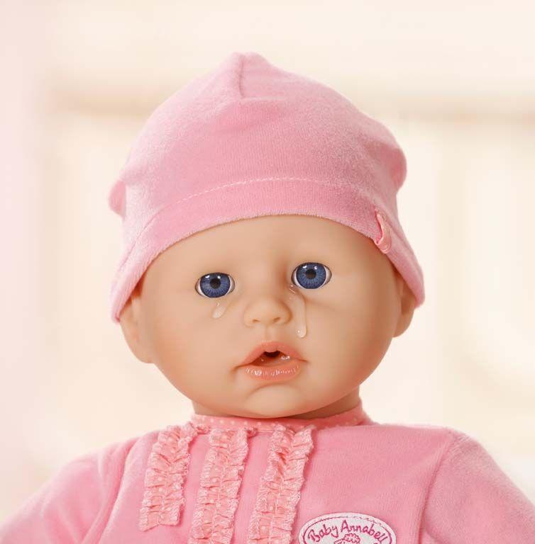 Zapf Creation Плачещо бебе Анабел с аксесоари