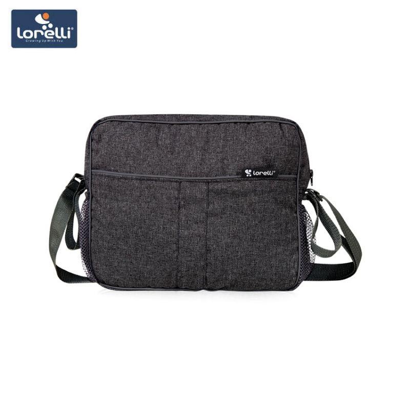 2ac014162cc Bertoni Lorelli Чанта за бебешка количка MAMMA BAG - Black