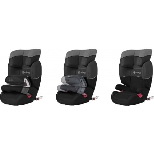 cybex isis fix 9 36 kg pure black 2012. Black Bedroom Furniture Sets. Home Design Ideas