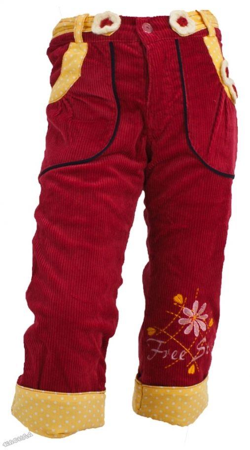 53327af0294 Pierre Alleshere - Детски подплатен панталон *Peonìa*