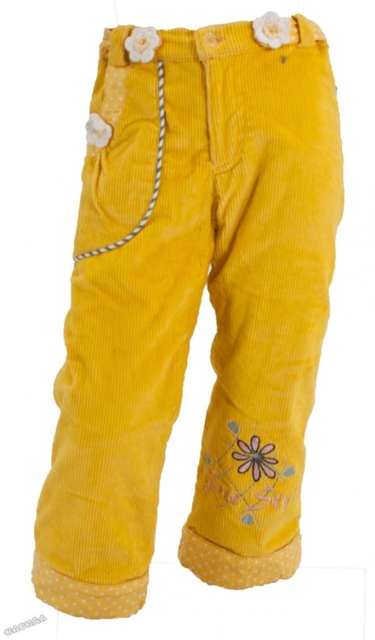 7034ec833e3 Pierre Alleshere - Детски подплатен панталон *Azafràn*
