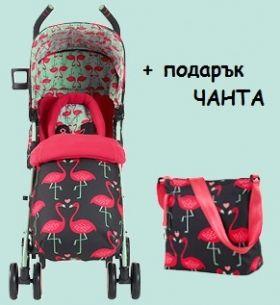 Комбинирана бебешка количка Cosatto SUPA Bow How