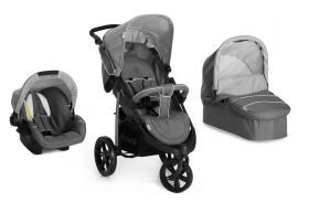 Бебешка количка 3в1 Hauck VIPER SLX Trio Set Smoke/Grey 2016