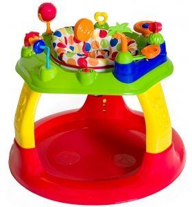 Bright Starts Бебешки център за игра Sweet Safari™ Bounce-A-Round™