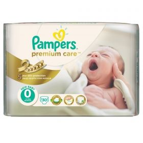Pampers - Бебешки пелени Pampers Premium Care 1 *Newborn 2-5кг.* 88бр.