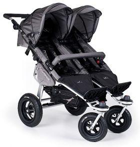 Бебешка количка за близнаци TFK Twinner Twist Duo Черно 2016
