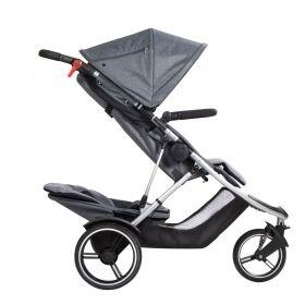 Phil&Teds Бебешка комбинирана количка Dash V5 Grey Marl