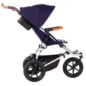 Бебешка комбинирана количка Mountain Buggy Cosmopolitan Denim/Chilli