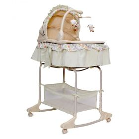 Cangaroo Бебешко легло-люлка Nap Beige