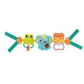 Музикална играчка за количка Playgro - Сафари
