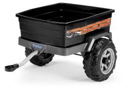 Ремарке John Deere Stake-Side за детски акумулаторен трактор J.D. POWER PULL 6V.