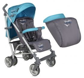 Бебешка лятна количка Bertoni Lorelli S200 Grey&Green 2015