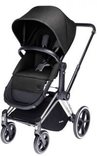 Бебешка количка Cybex Priam Seat 2 in 1 Black Beauty