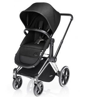 Бебешка количка Cybex Priam Seat 2 in 1 Happy Black 2016