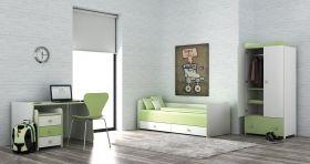 Детско трансформиращо се легло-люлка Bertoni Lorelli TREND Plus Бяло/Капучино