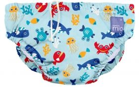 Бебешки бански Bambino Mio Swim Nappy Deep Sea Yellow