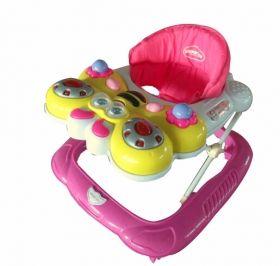 Kikka Ride - Детска проходилка Numbers Light Pink