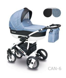 Camarelo Бебешка количка 2в1 Camarelo Carera NEW col.CAN-5