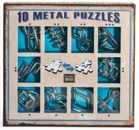 Eureka Metal Puzzle Set Purple Комплект логически 3D пъзел