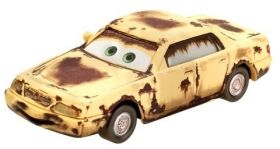 Cars 2 Количка  MATER with sign