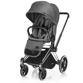 Бебешка количка Cybex Priam Lux Seat Manhattan Grey 2017