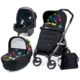 Бебешка количка 3в1 Peg Perego BOOK PLUS Modular Elite Luxe Beige 2017