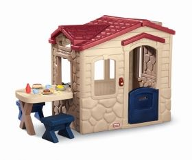 Little Tikes - Детска къща за игра Picnic on the Patio™ Playhouse