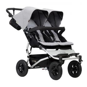 Mountain Buggy Количка за близнаци 'Duet' Silver