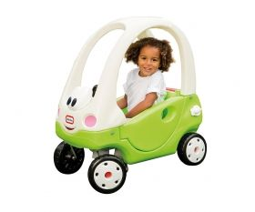 Little Tikes - Детска кола 2 в 1 за бутане Cozy Coupe
