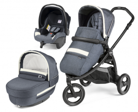 Peg Perego Бебешка количка 3в1 BOOK SCOUT Elite Modular Luxe Mirage