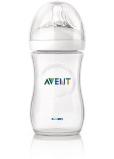 Шише за хранене Philips AVENT Natural PP- 260ml.