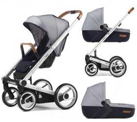 Бебешка количка 2 в 1 Mutsy Igo Urban Nomad Standard White/Blue 2014