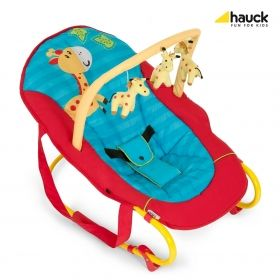 Бебешки шезлонг Hauck Bungee Deluxe Jungle Fun