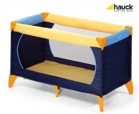 Hauck - Сгъваема кошара Dream`n Play 11 Yellow/Blue/Navy