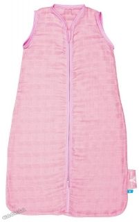 WallaBoo - Лятно чувалче за спане Sleeping Bag Lightweight Cotton - Pink