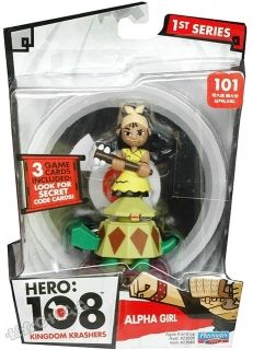 HERO 108 - Фигурка Kingdom Krashers Figure - 101 Alpha Girl