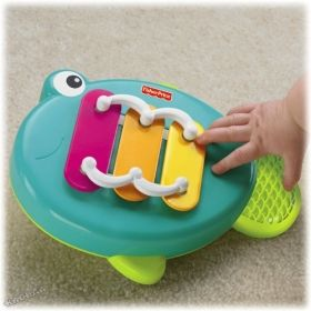 Fisher Price - Забавен ксилофон Growing Baby™ Musical Xylo Fish