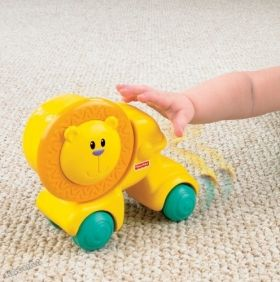 Fisher Price - Забавна играчка за бутане Growing Baby™ Press And Crawl Lion