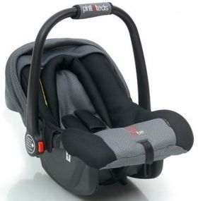 Phil & Teds Стол за кола Bebe High Side (0-13 kg) Black/Grey