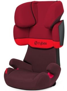 Cybex - Столче за кола Solution X (15-36 kg.) Rumba Red 2014