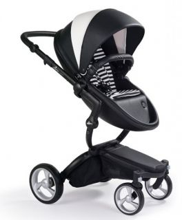 Бебешка комбинирана количка MIMA Xari Limited Edition Black and White