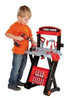 Детска работилница в куфарче Smoby Black&Decker